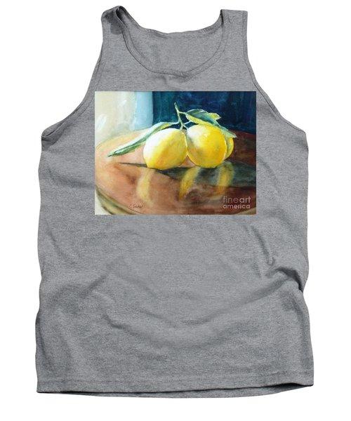 Lemon Reflections Tank Top