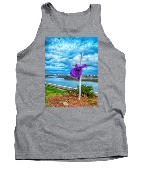 Lentin Cross Tank Top by Bill Barber