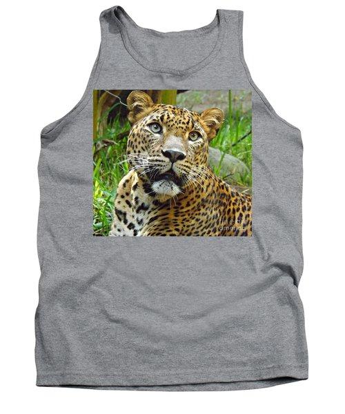 Leopard Face Tank Top