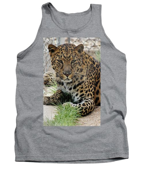 Leopard Lounging 1 Tank Top