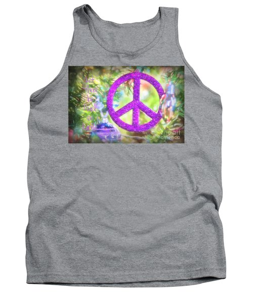 Let There Be Peace On Earth Tank Top