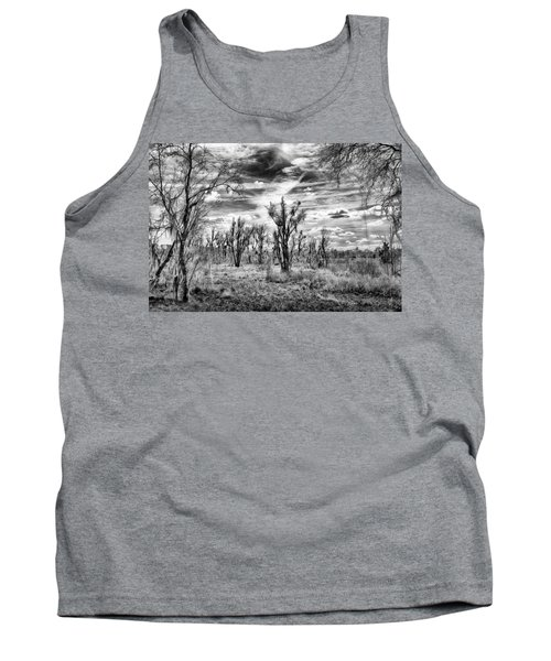 Tank Top featuring the photograph Levy Lake by Howard Salmon