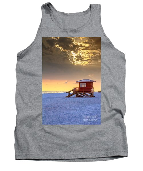 Life Guard 1 Tank Top by Marvin Spates