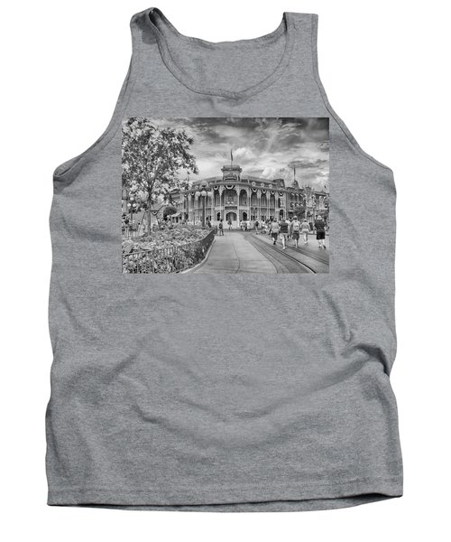 Tank Top featuring the photograph Life On Main Street by Howard Salmon