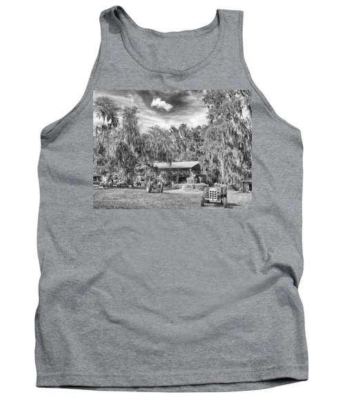 Tank Top featuring the photograph Life On The Farm by Howard Salmon