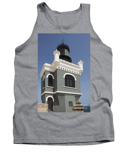 Lighthouse At El Morro Fortress Tank Top