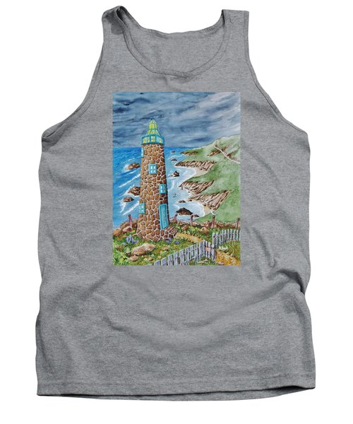Lighthouse Tank Top by Katherine Young-Beck
