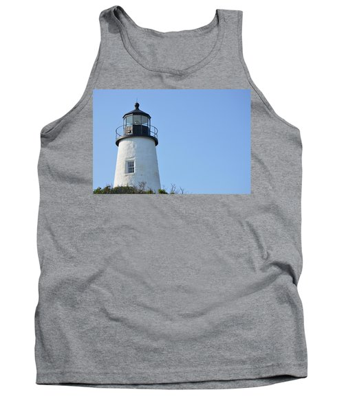 Lighthouse On Clear Day Tank Top