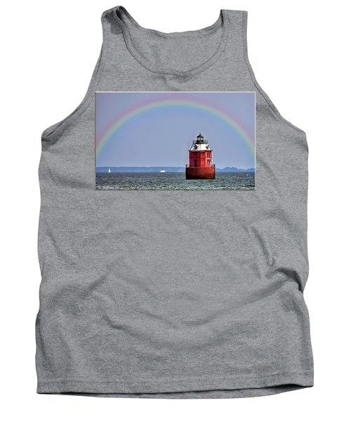Lighthouse On The Bay Tank Top