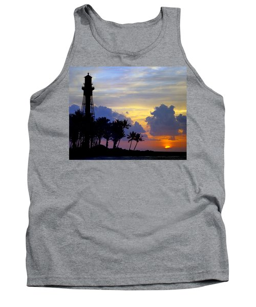 Lighthouse Point Sunrise 2 Tank Top