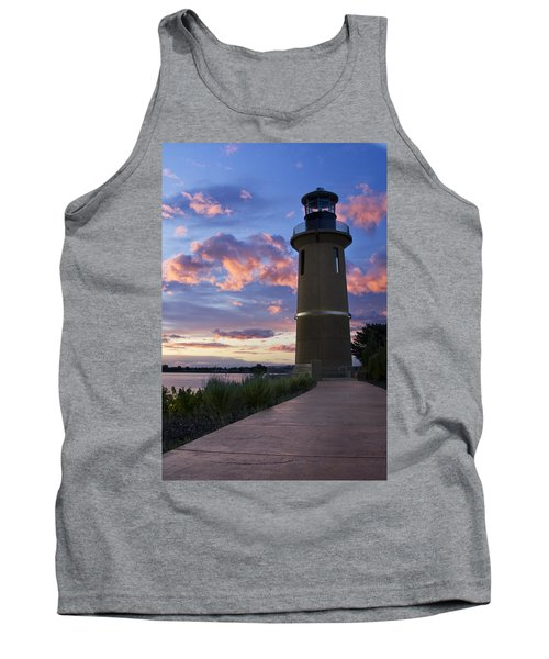 Tank Top featuring the photograph Lighthouse by Sonya Lang
