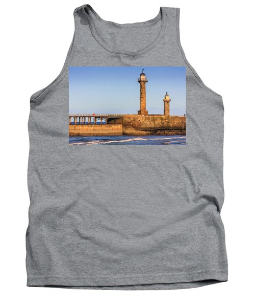 Lighthouses On The Piers Tank Top