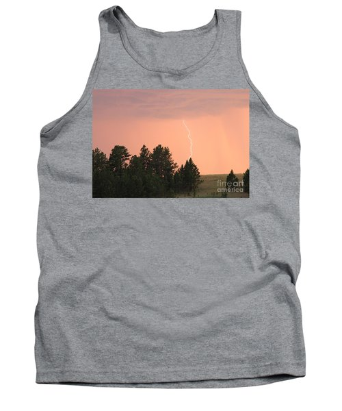 Tank Top featuring the photograph Lighting Strikes In Custer State Park by Bill Gabbert