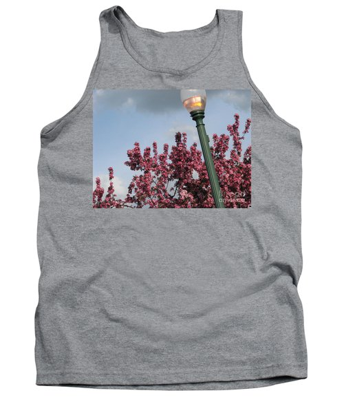 Tank Top featuring the photograph Lighting Up The Day by Michael Krek