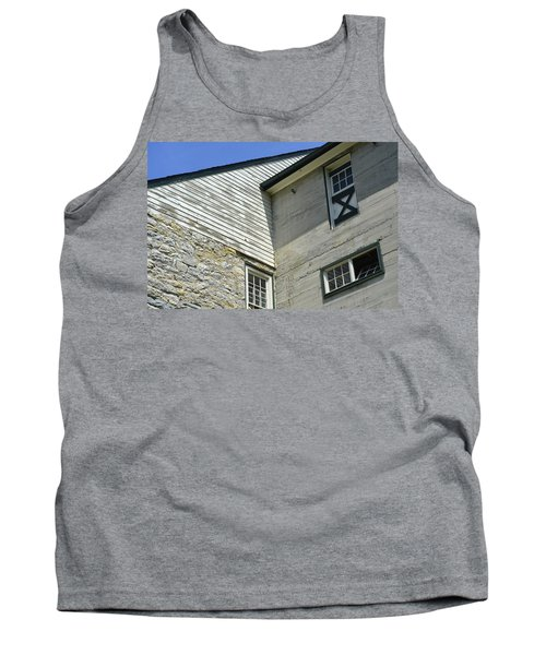 Lime Valley Mill Corner View Tank Top