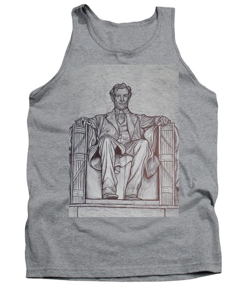 Lincoln Memorial Tank Top by Christy Saunders Church