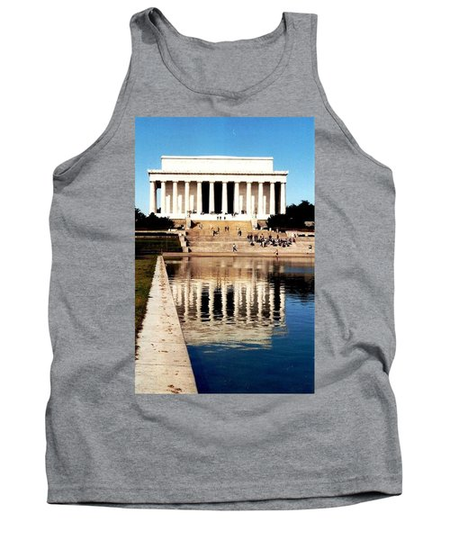 Tank Top featuring the photograph Lincoln Memorial by Daniel Thompson