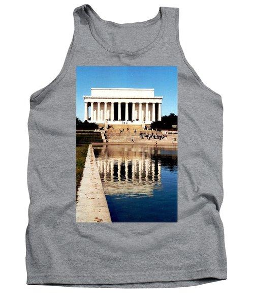Lincoln Memorial Tank Top by Daniel Thompson