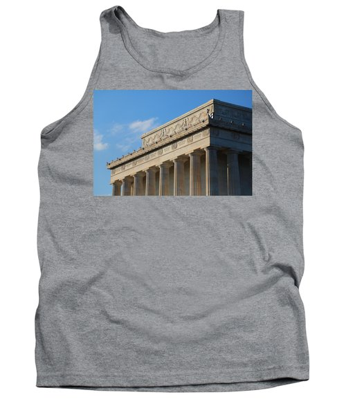 Lincoln Memorial - The Details Tank Top