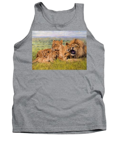 Lion Family Tank Top