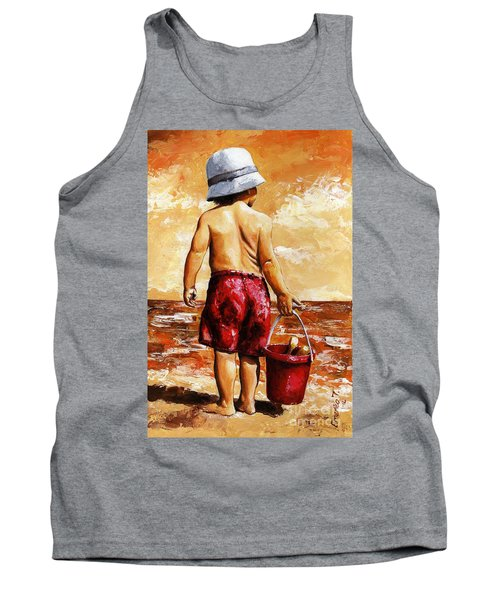 Little Boy On The Beach II Tank Top
