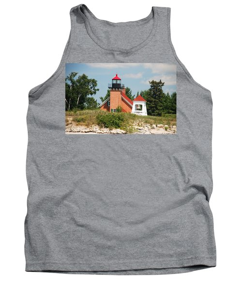 Little Traverse Lighthouse No.2 Tank Top by Janice Adomeit