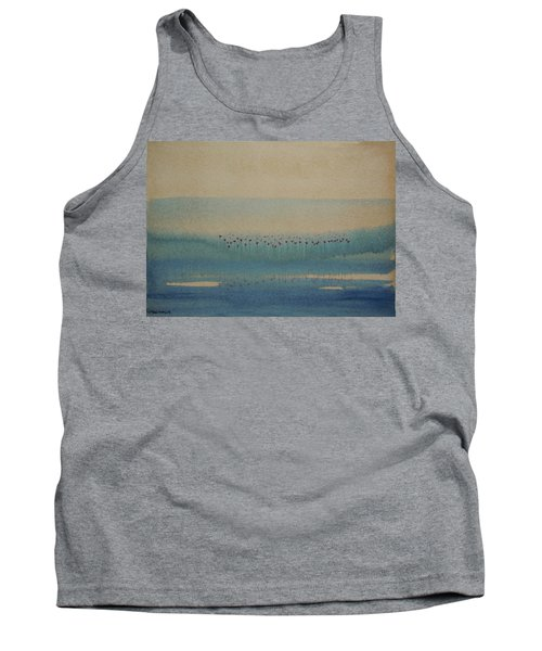 Tank Top featuring the painting Loch Of My Heart by Mini Arora