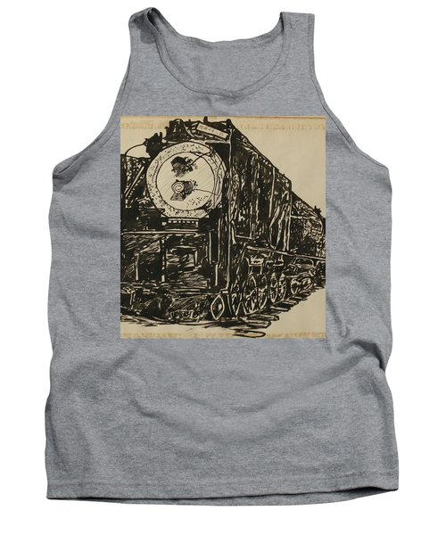 Locomotive Study Tank Top
