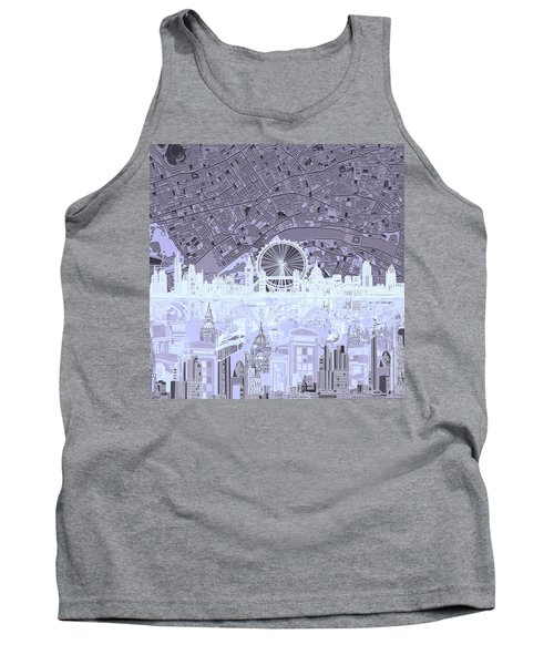 London Skyline Abstract 10 Tank Top