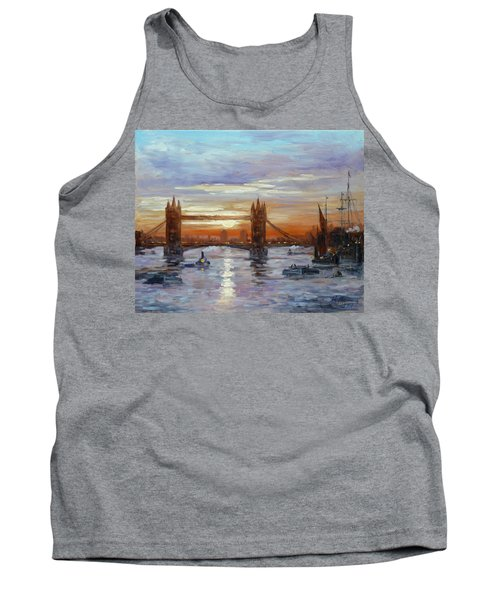 London Tower Bridge Tank Top