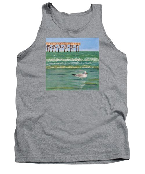 Lone Gull A-piers Tank Top