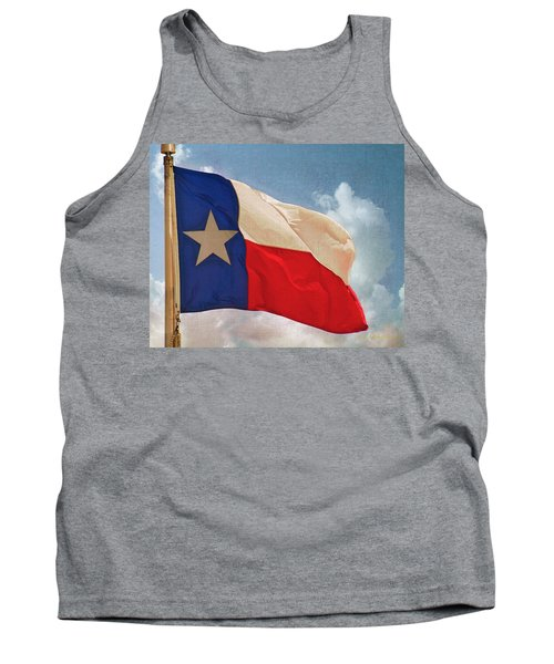 Lone Star Flag Tank Top
