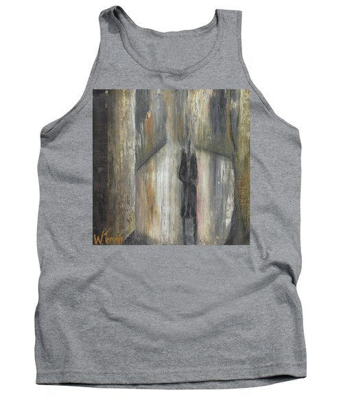 'lonely Road Without Him' Tank Top