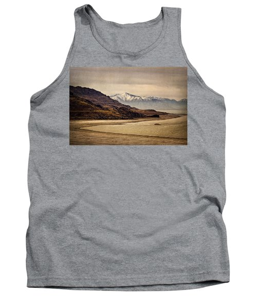 Tank Top featuring the photograph Lonesome Land by Priscilla Burgers
