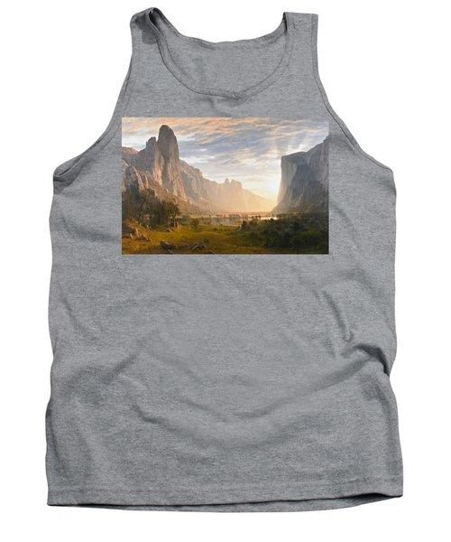 Looking Down Yosemite Valley California Tank Top