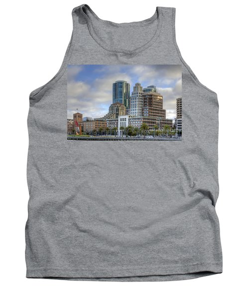 Tank Top featuring the photograph Looking Downtown by Kate Brown