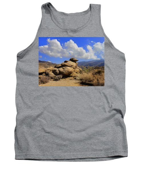 Tank Top featuring the photograph Lookout Rock by Michael Pickett