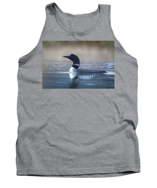 Tank Top featuring the photograph Loon by Jack Bell