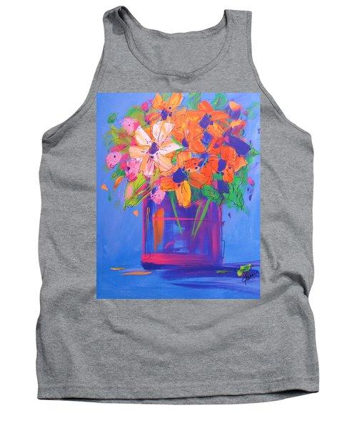 Loosey Goosey Flowers Tank Top