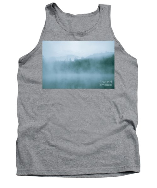 Lost In Fog Over Lake Tank Top