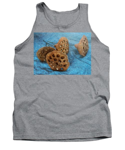 Tank Top featuring the photograph Lotus Pods by Diane Alexander