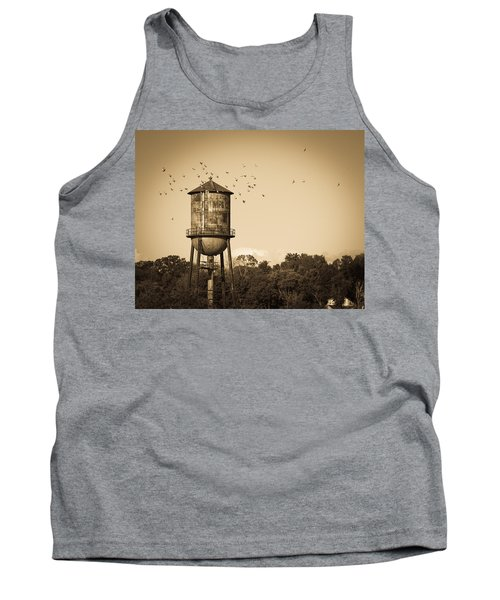 Loudon Water Tower Tank Top by Melinda Fawver