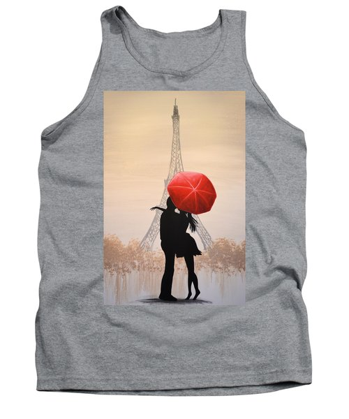 Love In Paris Tank Top by Amy Giacomelli
