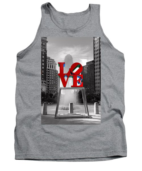 Love Isn't Always Black And White Tank Top