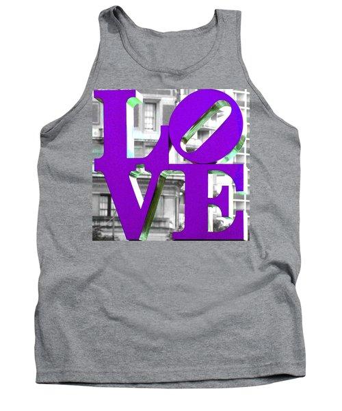 Love Philadelphia Purple Tank Top