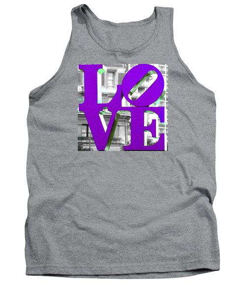 Love Philadelphia Purple Tank Top