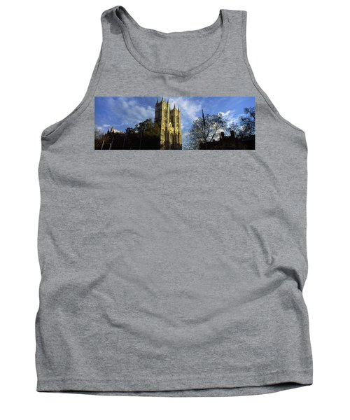 Low Angle View Of An Abbey, Westminster Tank Top by Panoramic Images