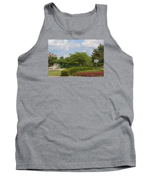 Lytle Park Cincinnati Tank Top by Kathy Barney