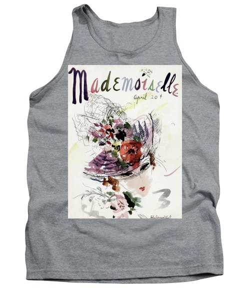 Mademoiselle Cover Featuring An Illustration Tank Top