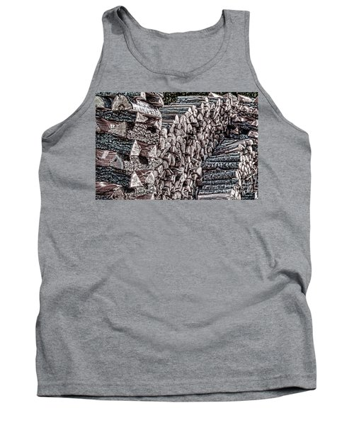 Maine Firewood Tank Top by Patrick Fennell